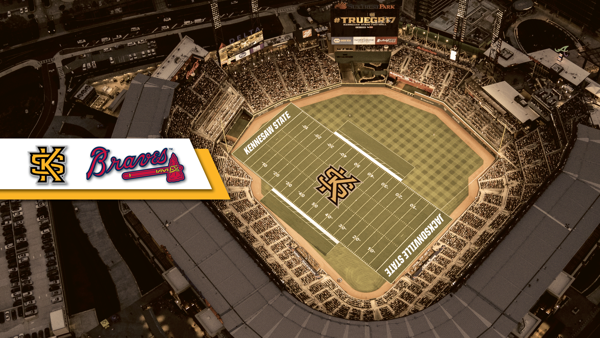 pretty nice 8be64 e5779 FB  Owls to Host Game at SunTrust Park in 2018