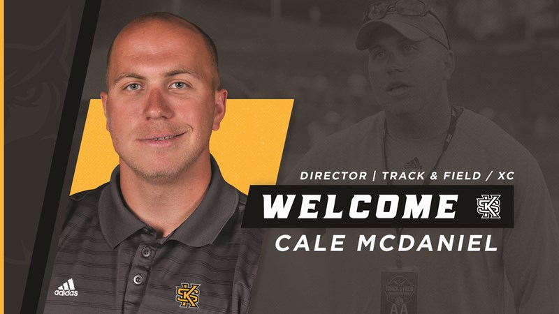 67f1b4d68 Cale McDaniel Tabbed to Lead Track   Field and Cross Country - Kennesaw  State University Athletics